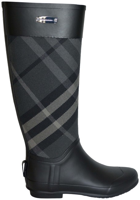 Item - Charcoal Clemence Rainboots House Check Boots/Booties Size US 5 Regular (M, B)