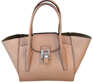 Michael Kors Collection Satchel in Blush