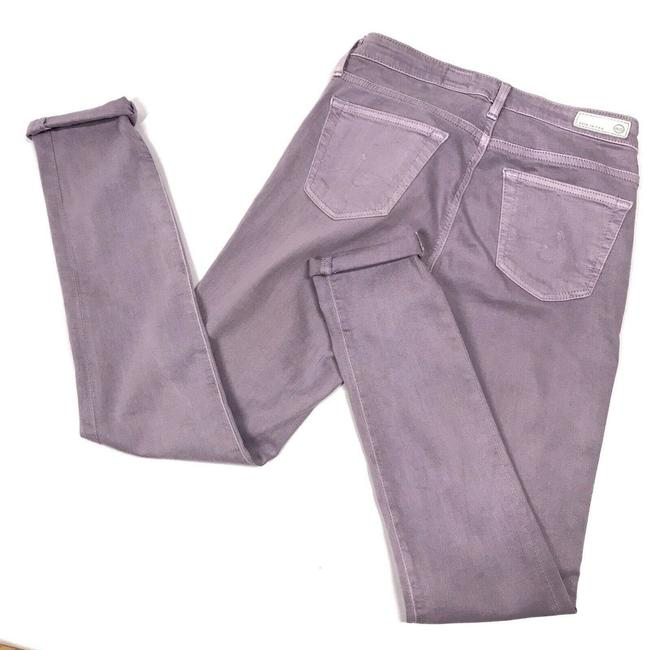 Item - Purple Light Wash The Legging Ankle Super Stretch 25r Ctl1389 Skinny Jeans Size 25 (2, XS)