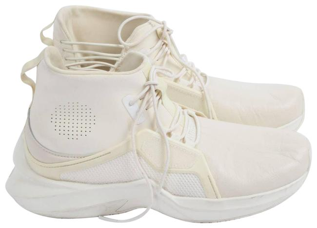 Item - White Ignite Lace Up High Top Trainer Sneakers Size US 7.5 Regular (M, B)