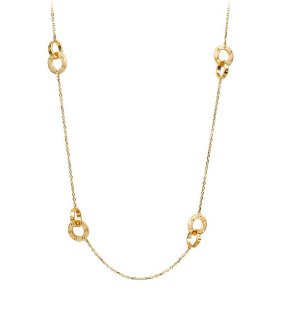 Item - Yellow Love Long Gold Necklace
