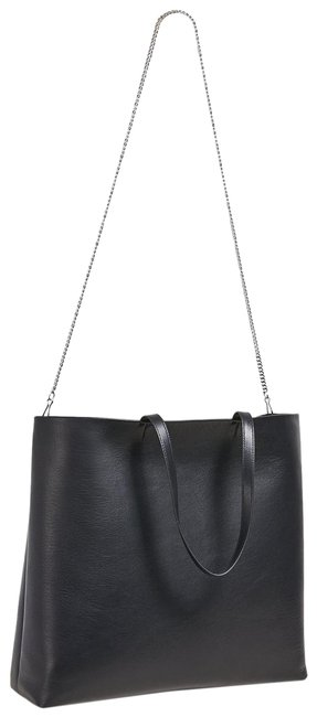 Item - Simple In Black Leather Tote