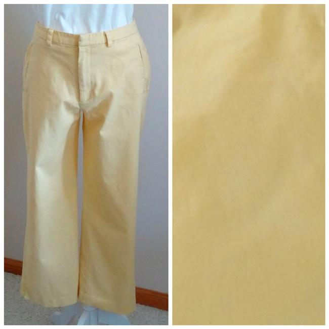 Item - Yellow Vtg Stretch Pants Size 8 (M, 29, 30)