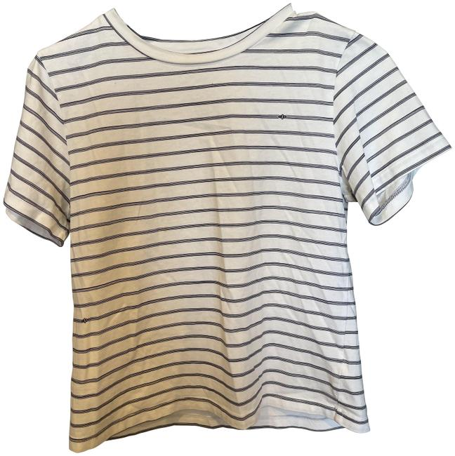 Item - White and Blue T Tunic Size 4 (S)