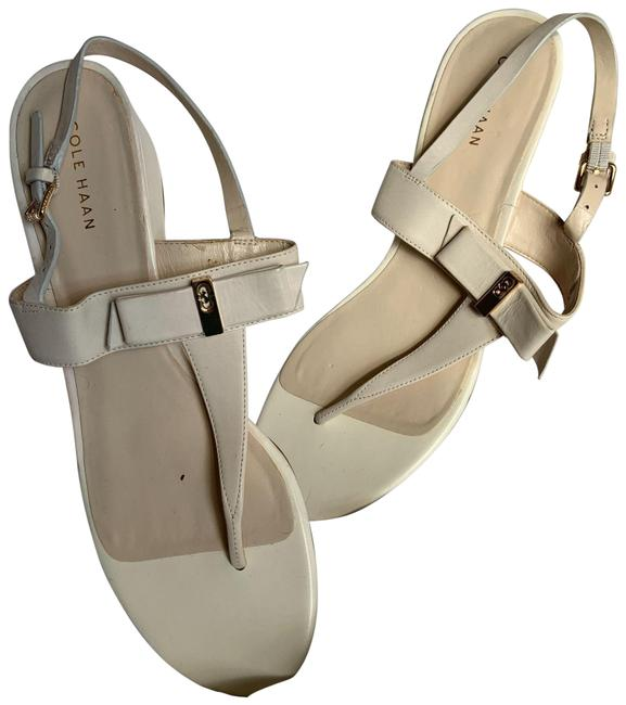Item - Cream Elsie Hardware Ivory B Sandals Size US 9.5 Regular (M, B)