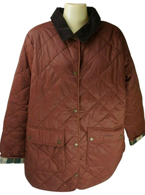 Item - Chestnut Pilton Quilted In Women's Jacket Size 14 (L)