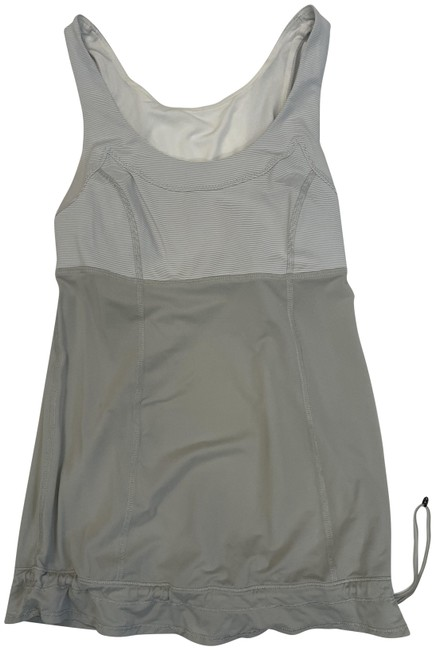 Item - Gray/White Elevate Activewear Top Size 4 (S)