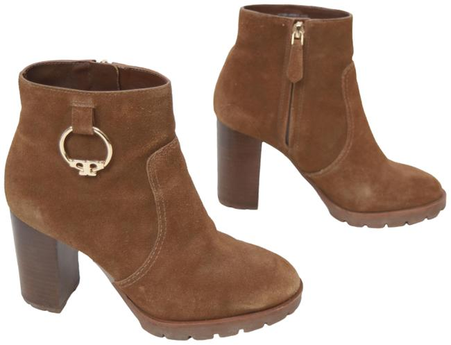 Item - Brown Suede Boots/Booties Size US 6 Regular (M, B)