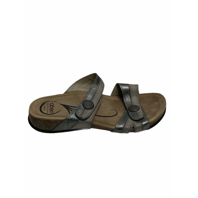 Item - Gray Bio System Barbara Orthotic Two-tone Leather 9270 Sandals Size US 8.5 Narrow (Aa, N)