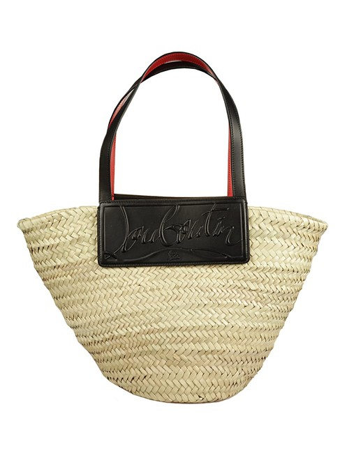 Item - Loubishore Woven Straw Beige Tote