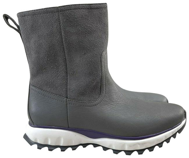 Item - Gray Quiet Shade Suede Zerogrand Xc Pull On Waterproof Bumper Toe Boots/Booties Size US 6.5 Regular (M, B)