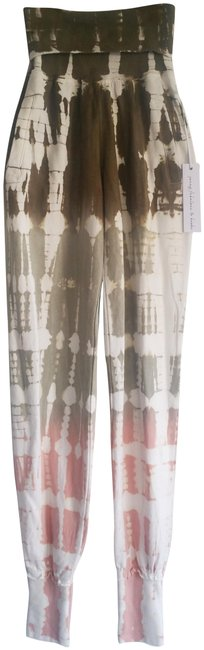 Item - Multi-color Groove Tie Dye Cuff Ankle Jogger Pants Size 4 (S, 27)