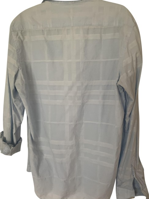 Item - Light Blue Gently Used Button-down Top Size 8 (M)