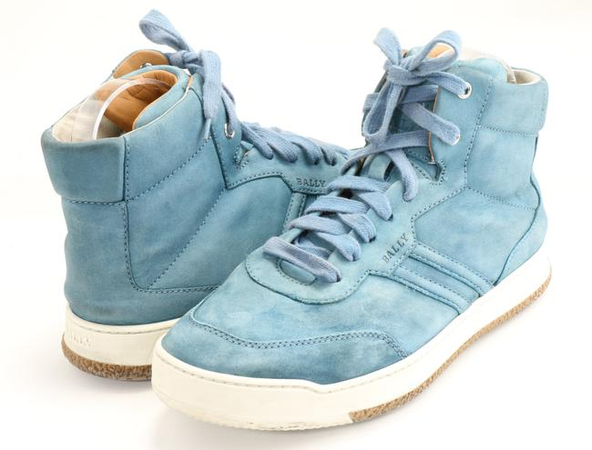 Item - Light Blue Top Sneakers Shoes