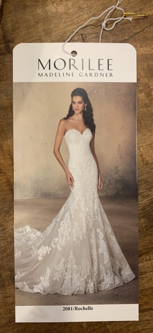 Item - Ivory Lace/ Tulle Rochelle 2081 Formal Wedding Dress Size 4 (S)