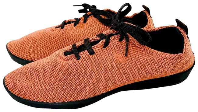 Item - Orange Sneakers Nylon Stretch Lace 42-10.5/11 Flats Size US 10.5 Regular (M, B)