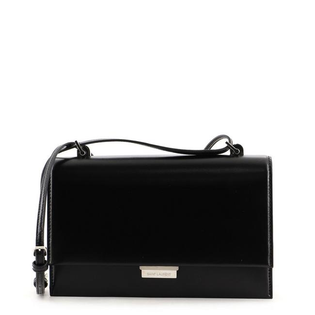 Item - Babylone Small Black Leather Cross Body Bag