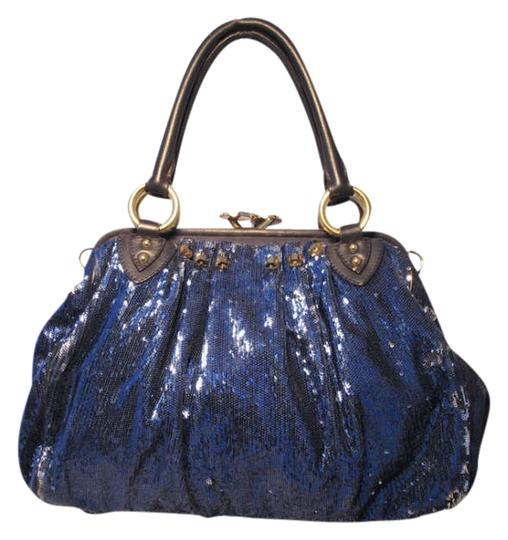 Preload https://item2.tradesy.com/images/marc-jacobs-new-york-rocker-stam-blue-leather-with-sequins-shoulder-bag-289211-0-0.jpg?width=440&height=440