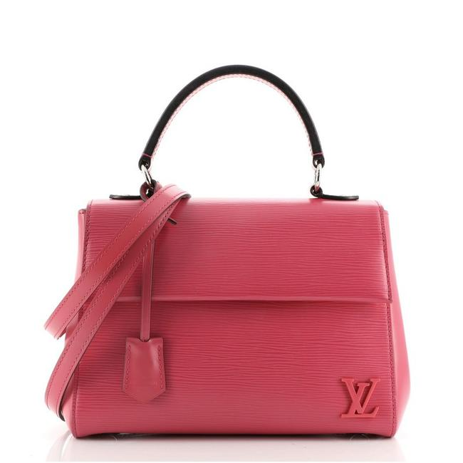 Item - Top Handle Bag Cluny Bb Pink Leather Satchel