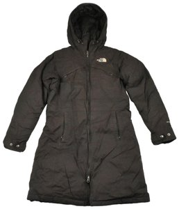 The North Face Tnf Hooded Insulated Brown Jacket