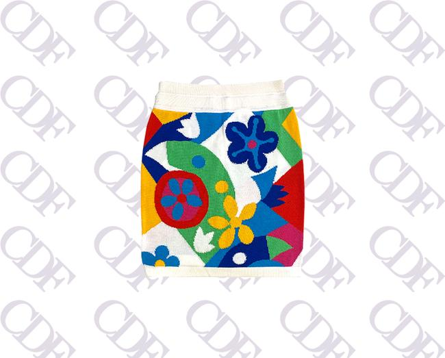 Item - Multicolor Fruition Cdf: Vintage 1996 Skirt Size 8 (M, 29, 30)