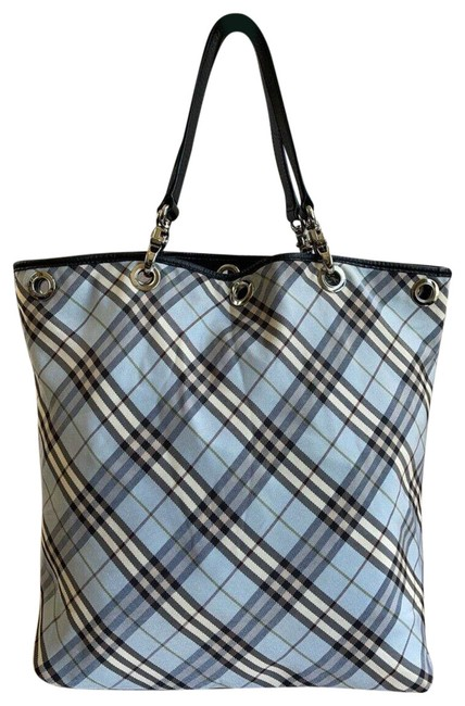 Item - Bag Reversible Nova Check (Multicolor) Canvas & Leather Tote