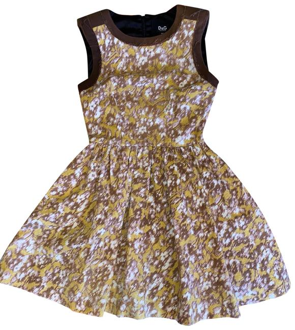 Item - Brown Skater Short Casual Dress Size 0 (XS)