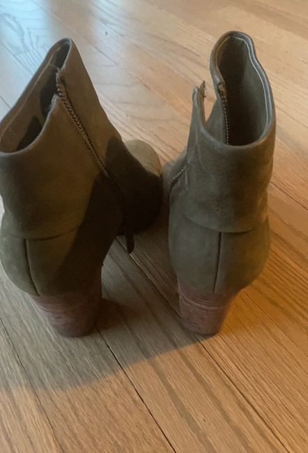 Cole Haan Olive Green Boots/Booties Size US 7 Regular (M, B) Cole Haan Olive Green Boots/Booties Size US 7 Regular (M, B) Image 3