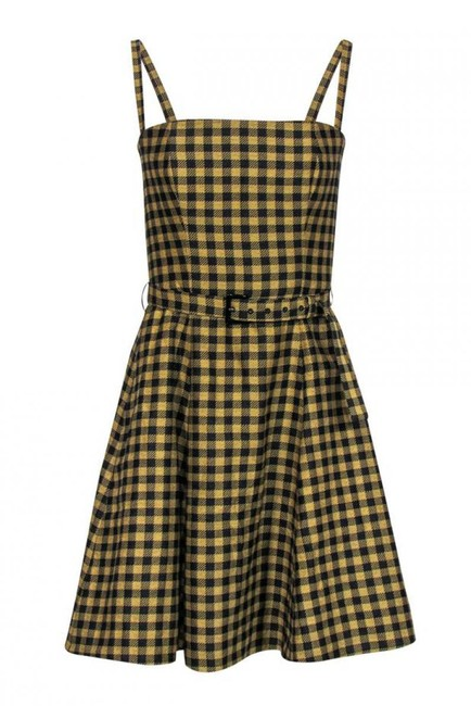 Item - Yellow Short Casual Dress Size 6 (S)