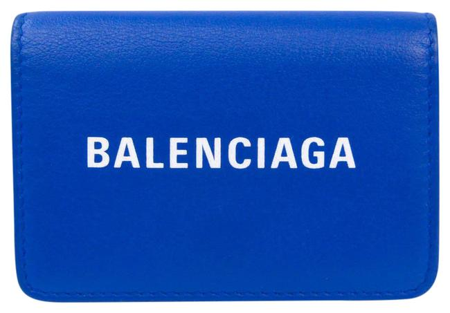 Item - Royal Blue Everyday Compact 551921 Unisex Leather (Tri-fold) Wallet