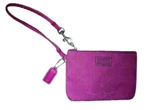 Coach Coach Signature Small Wristlet