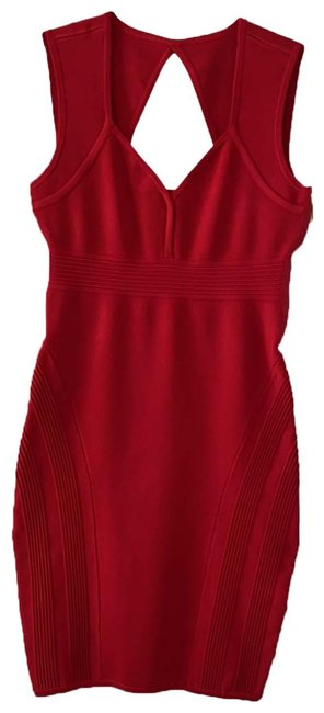 Item - Red 0000 Short Night Out Dress Size 4 (S)