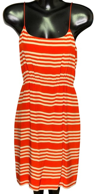 Item - Red Summer Short Casual Dress Size 4 (S)