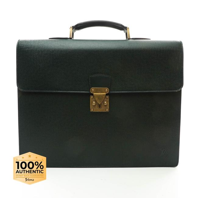Item - Moscova Taiga Business Leather #n4937v78 Green Laptop Bag