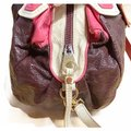 Marc by Marc Jacobs Vintage with Strap Purple/Salmon/Cream Patent Leather Satchel Marc by Marc Jacobs Vintage with Strap Purple/Salmon/Cream Patent Leather Satchel Image 2