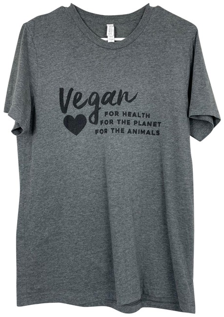 Item - Vegan For The Animals Tee Shirt Size 12 (L)
