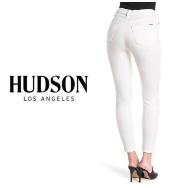 Item - White Light Wash High Rise Blair Ankle Super #nwha409zhe Skinny Jeans Size 31 (6, M)