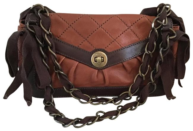 Item - Chain Cheap and Chic Brown Leather Shoulder Bag