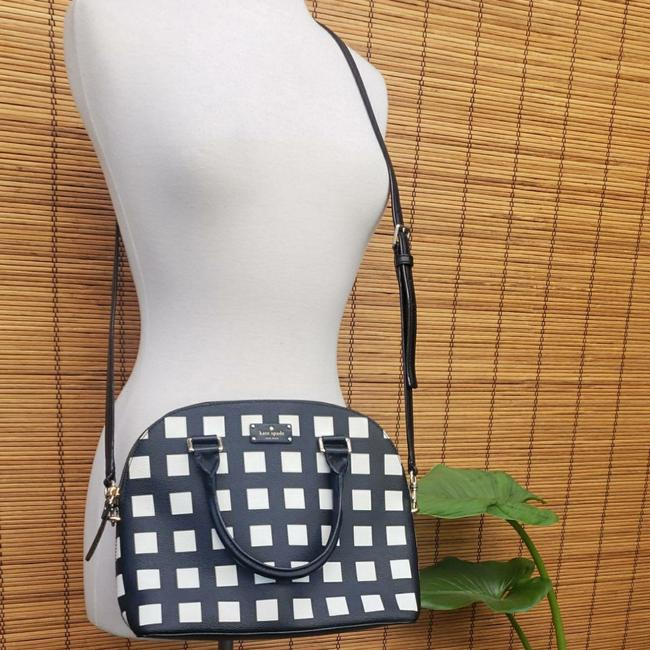 Item - Grove Street Pop Art Carli Black and White Faux Leather Tote