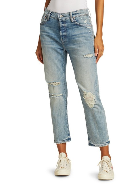 Item - Blue Acid The Scrapper Ankle Distressed Straight Leg Jeans Size 0 (XS, 25)