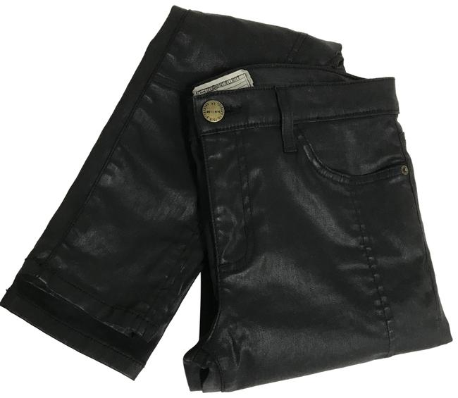 Item - Black Coated Current/Elliot Skinny Jeans Size 8 (M, 29, 30)