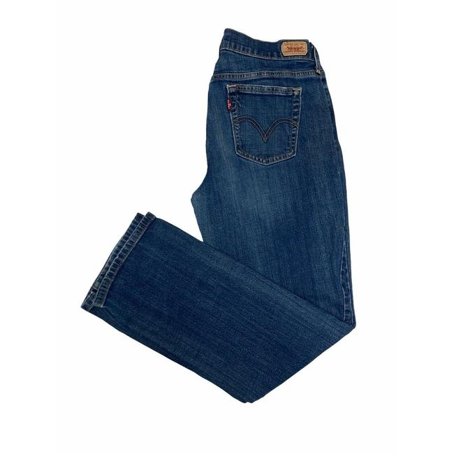 Item - Blue 505 Medium Wash Denim 10s Straight Leg Jeans Size 33 (10, M)