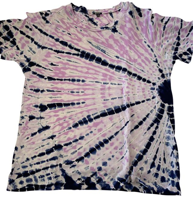 Item - Purple and Lilac Tie-dye Tee Shirt Size 2 (XS)