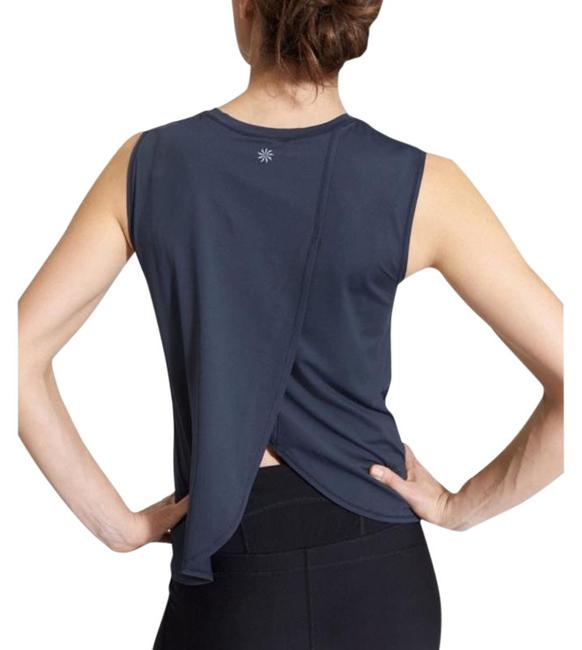 Item - Navy Sunlover Upf Tulip Back Workout Activewear Top Size 12 (L)