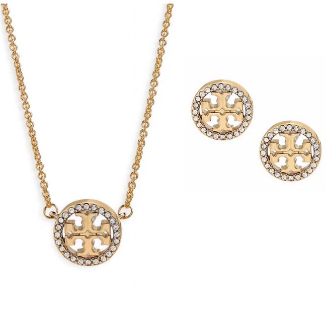 Item - Miller Logo Necklace and Earrings Set