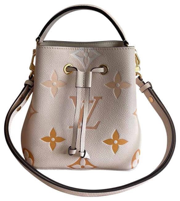 Item - Neonoe Bb By The Pool Summer Collection 2021 Cream Saffron Leather Cross Body Bag