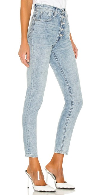 Item - Blue Light Wash We Wore What Danielle Straight Leg Jeans Size 0 (XS, 25)