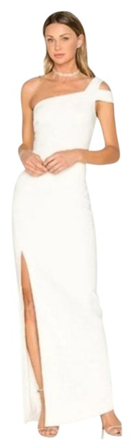 Item - White Revolve Maxson One Shoulder Gown Long Casual Maxi Dress Size 8 (M)