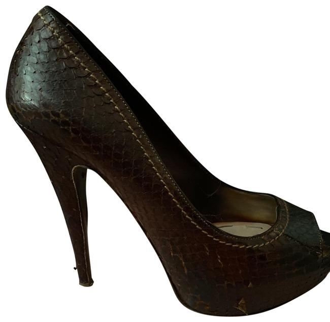 Item - Cocoa Whips Pumps Size US 7.5 Regular (M, B)