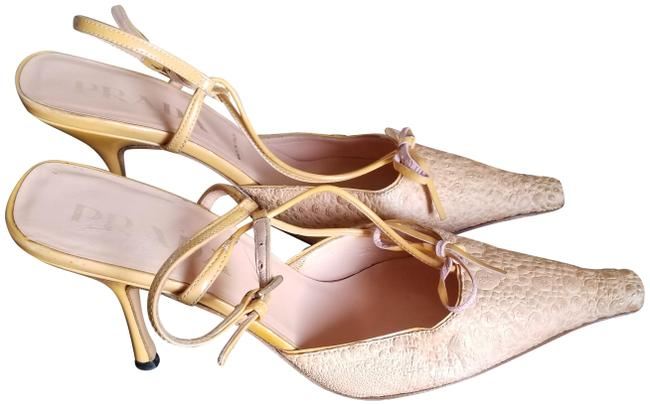 Item - Corral Rare Ostrich Bow Leather Heels Pumps Size EU 35.5 (Approx. US 5.5) Narrow (Aa, N)